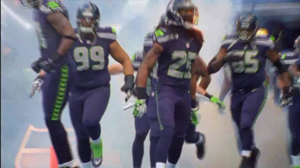 Madden 25 Seahawks and 49rs intro