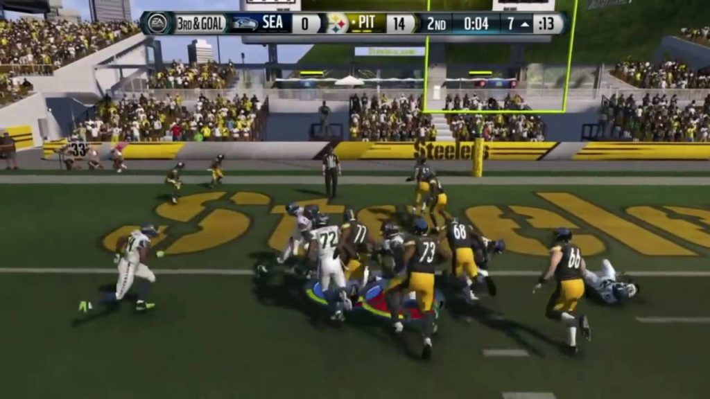 Football-NFL-Madden 15 :: Seahawk Beatdown :: Steelers Vs. Seahawks – Online Gameplay XboxOne