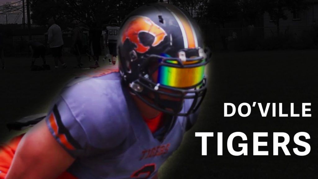 Do'Ville Tigers Football | How To Tackle | EnjoyTheGrind