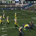 FootballNFLMadden 15  Disgusting Injury  Packers Vs Seahawks  Online Gameplay XboxOne