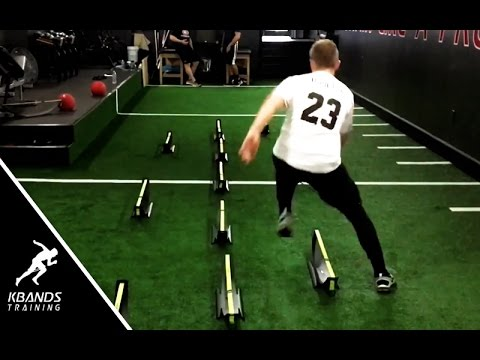 Speed Workouts   Football Hurdle Drill For Explosive Agility   Best Football Agility Drills