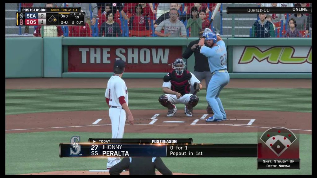 ALDS game 3 RedSox vs Mariners (part 1)