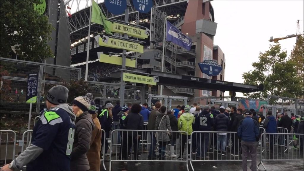 Seattle Seahawks NFL Gameday VS Atlanta Falcon 10-16-16
