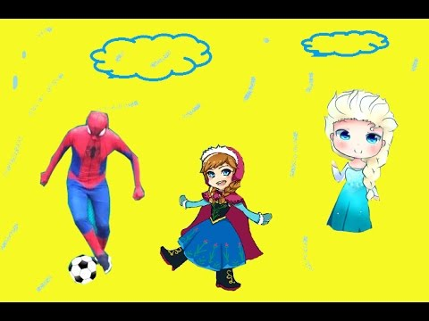 #Elsa #Spiderman #Anna play football in the rain then Elsa get sick – Funny Story 2016
