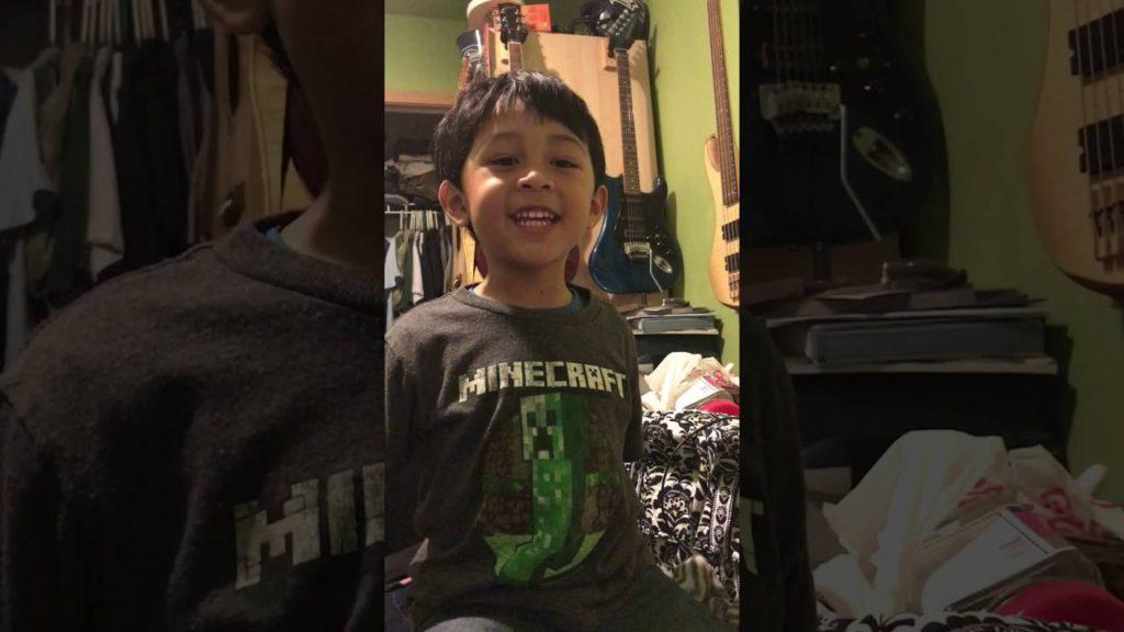 The cutest little Seahawks fan