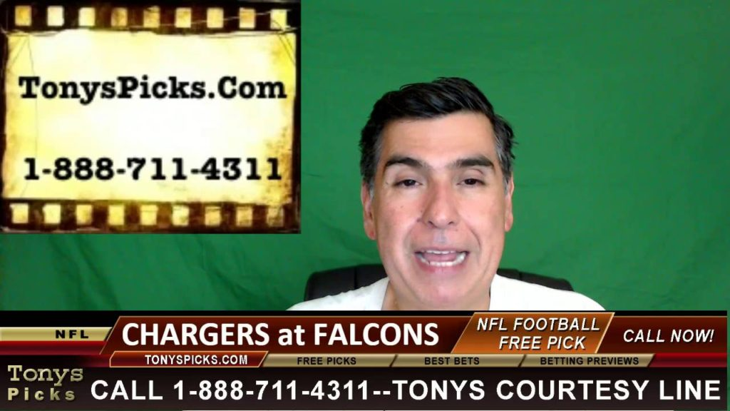 San Diego Chargers vs. Atlanta Falcons Pick Prediction NFL Pro Football Odds Preview 10-23-2016