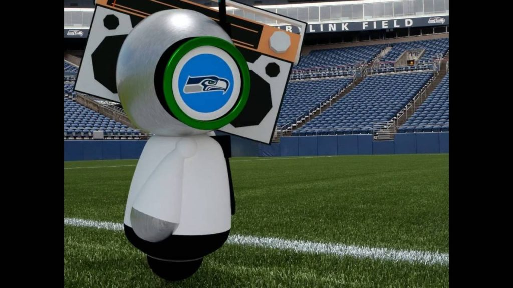 2016 Seattle Seahawks – HAWK BOT, Here Comes The Boom!