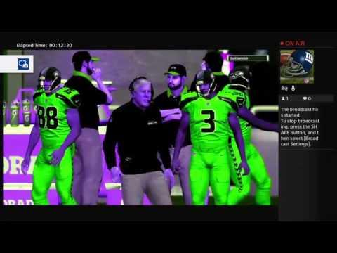 Madden17 NFFA League Game Seahawks vs Eagles Great Ending!!