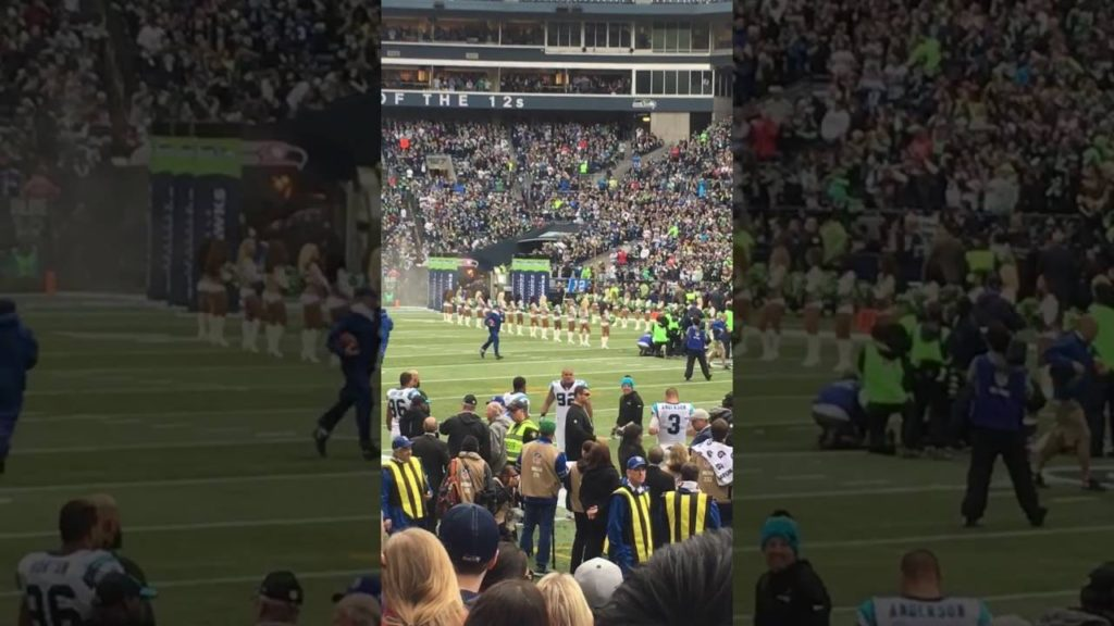 Watching Seahawks game live at Centurylink Field