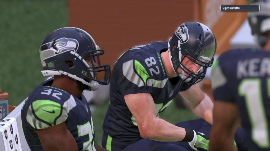 FSUownsUM plays Madden NFL 17 ranked game vs. Seahawks (SuperHawks406) 3 of 3