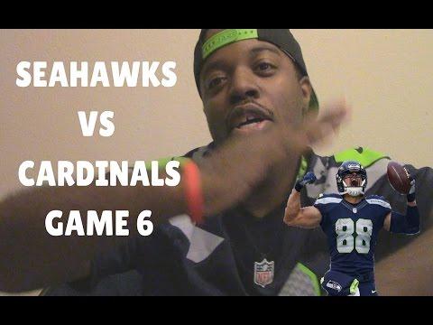 Seahawks vs Cardinals Game 6!
