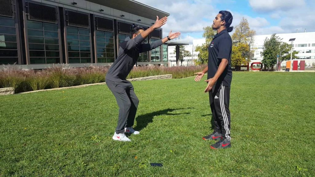 Active dynamic warm up exercises project by Parbhat Kennedy