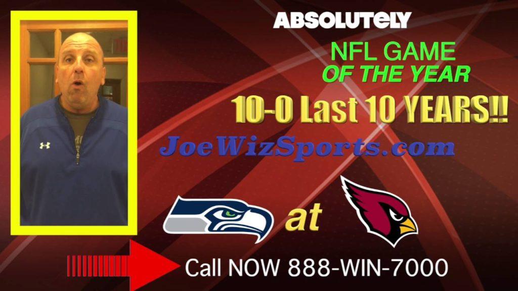 Sunday Night Winner – Arizona Cardinals Vs. Seattle Seahawks