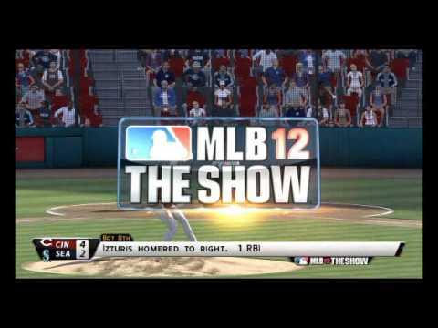 MLB 12 The Show Highlights: Reds vs Mariners