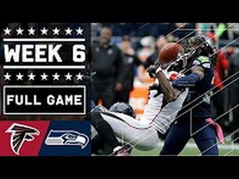 Falcons vs Seahawks Full Game | Week 6  NFL 2016