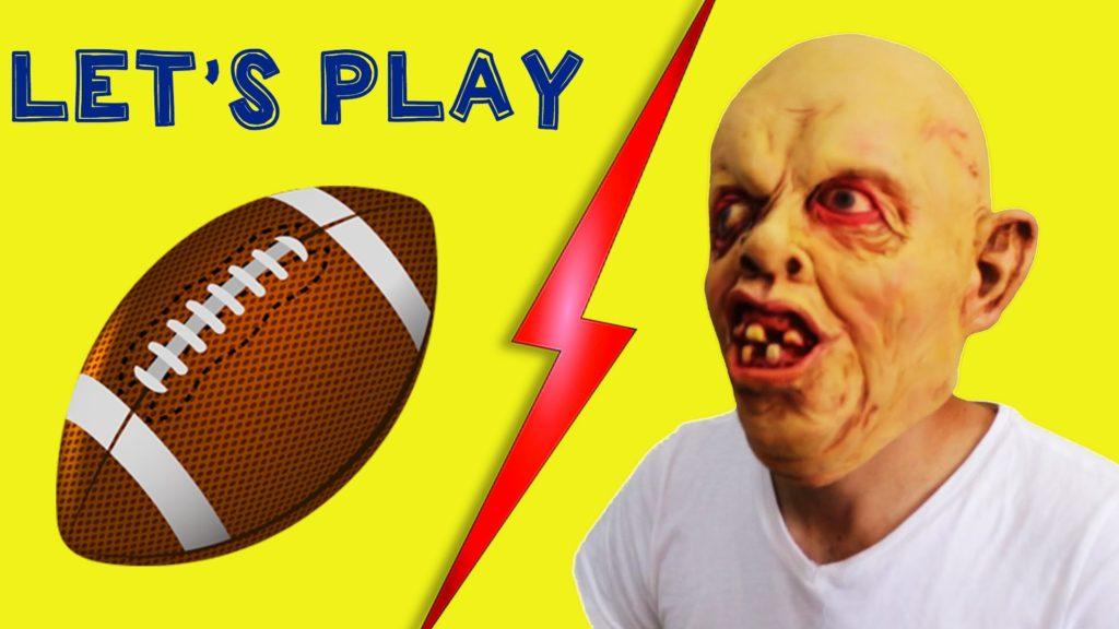 Alien Zombie Play Football   Finger Family Colors Learn   Nursery Rhymes