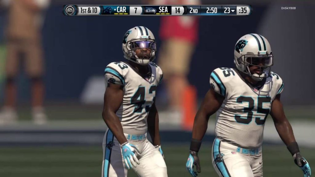 Madden 16. Panthers vs Seahawks