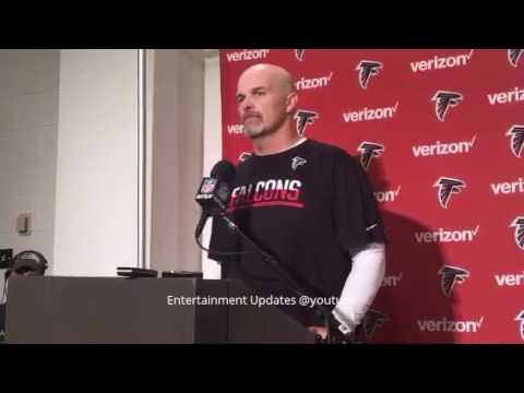 Dan Quinn postgame press conference after Atlanta Falcons vs Seattle Seahawks match October 16, 2016