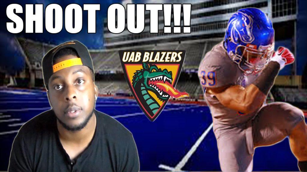 Blue Turf Shootout!!! Highest Scoring Game in UAB History!!! NCAA Football 14 Dynasty. UAB vs Boisie