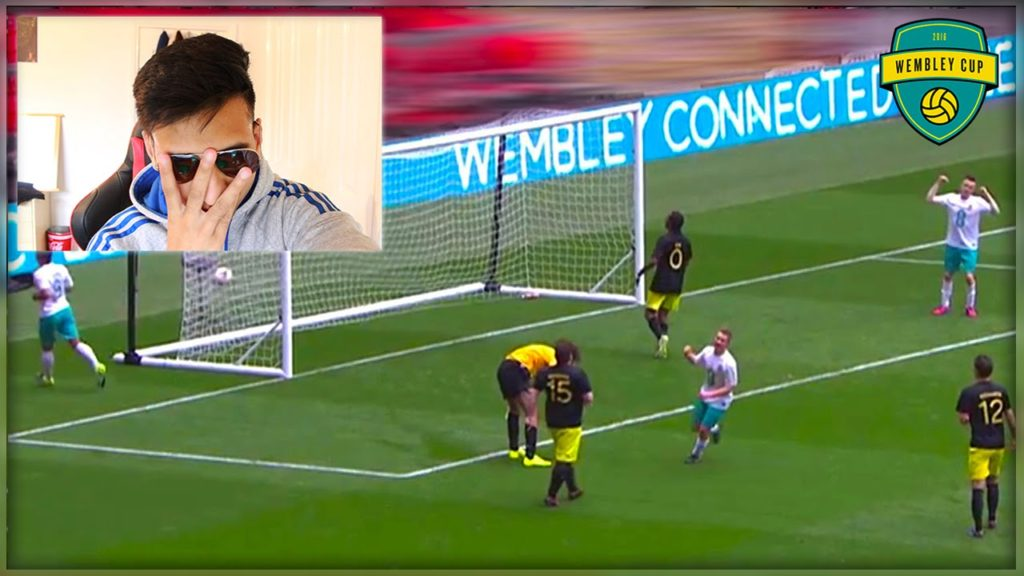 REACTING TO WEMBLEY CUP 2016 FOOTBALL!!