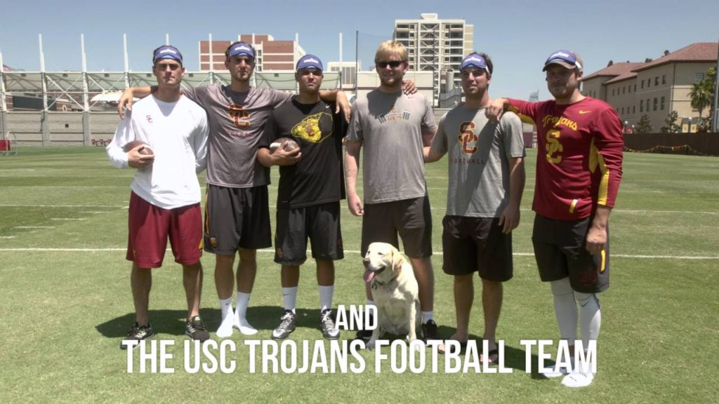 #HowEyeSeeIt Episode 02: Jake Olson & USC Trojans Football