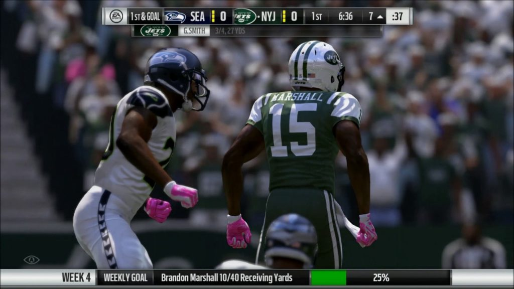 Seattle Seahawks vs New York Jets #Madden17 Week4 #PS4