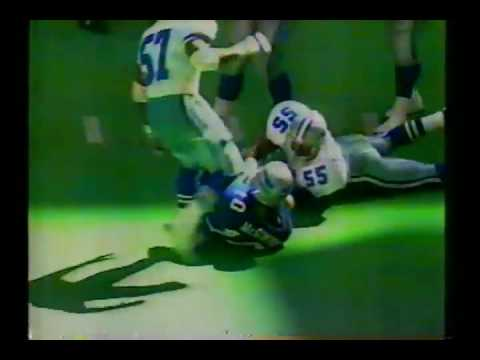 1992 10 11 Seattle Seahawks vs Dallas Cowboys