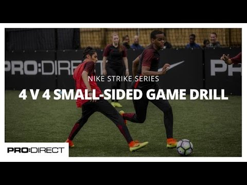 : 4 v 4 Small-Sided Game Drill presented by Pro:Direct Play@PlayFootball