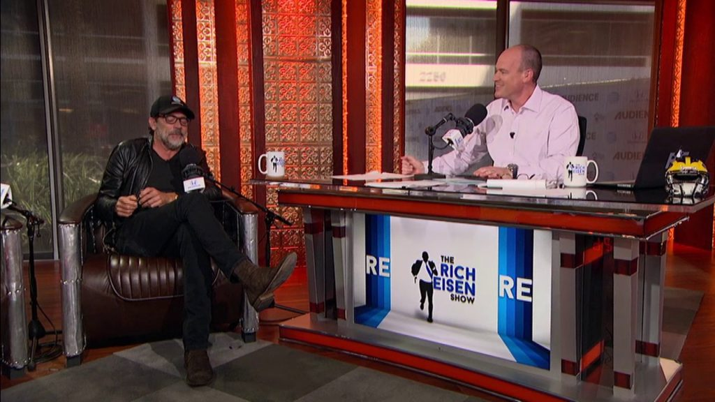 "Jeffrey Dean Morgan of AMC's ""The Walking Dead"" on His Seahawks Fandom – 10/25/16"