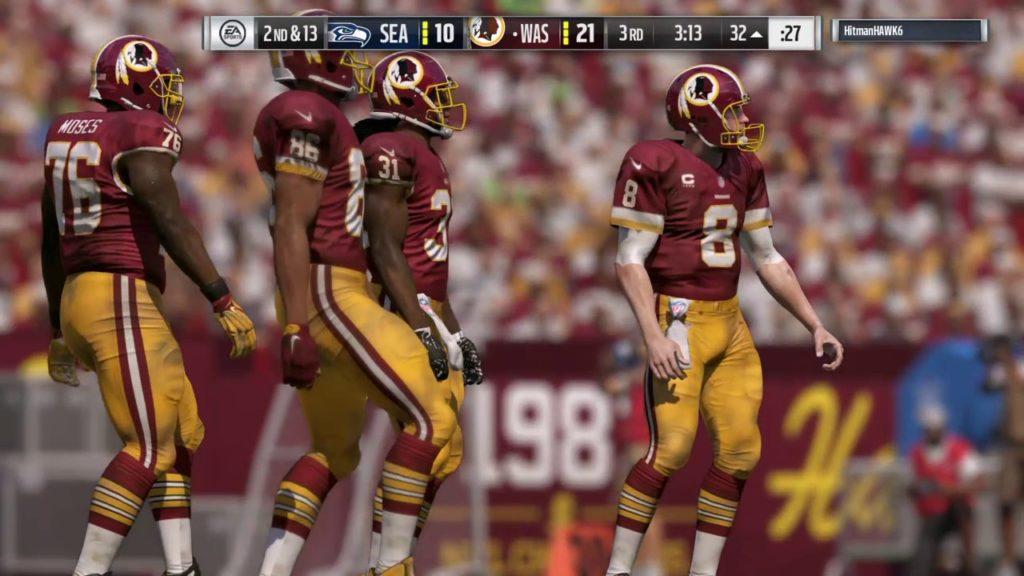 Madden NFL 17_20161025 Redskins (me) v Seahawks Online Pt 4 of 4