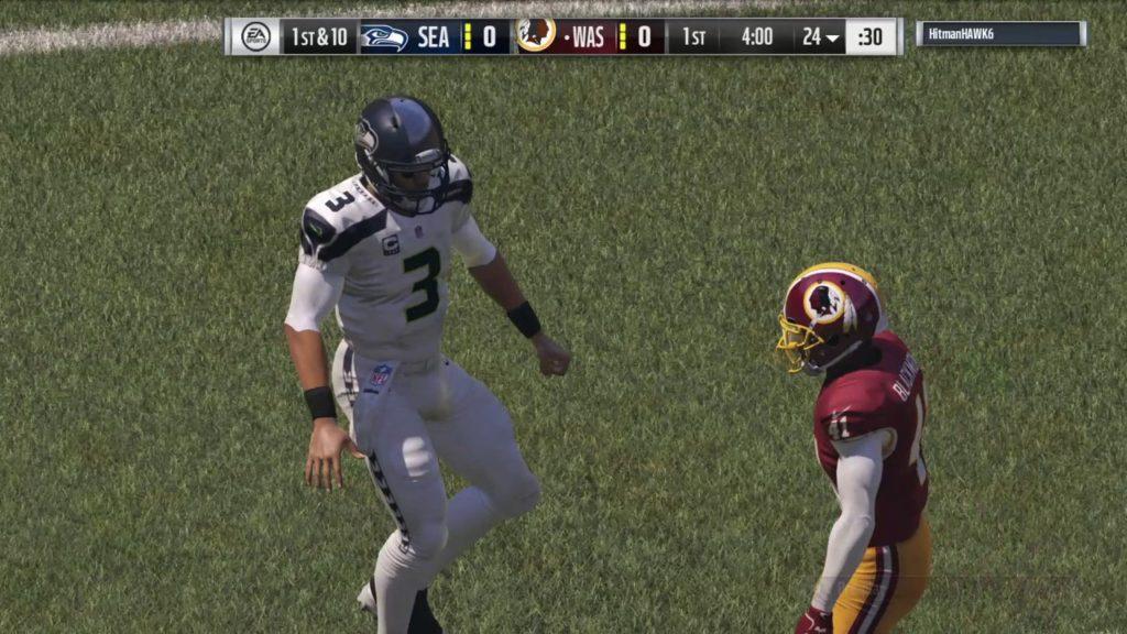 Madden NFL 17_20161025 Redskins (me) v Seahawks Online Pt 1 of 4