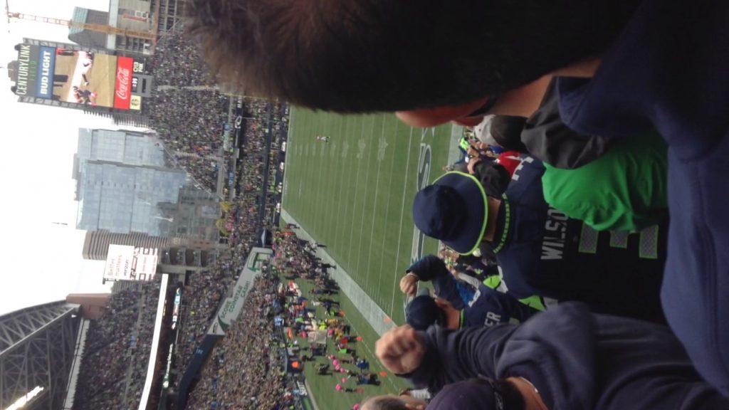 The last 6:53 of the Seattle Seahawks vs Atlanta  Falcons