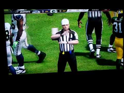 Nfl Seattle Seahawks VS Green Bay Packers
