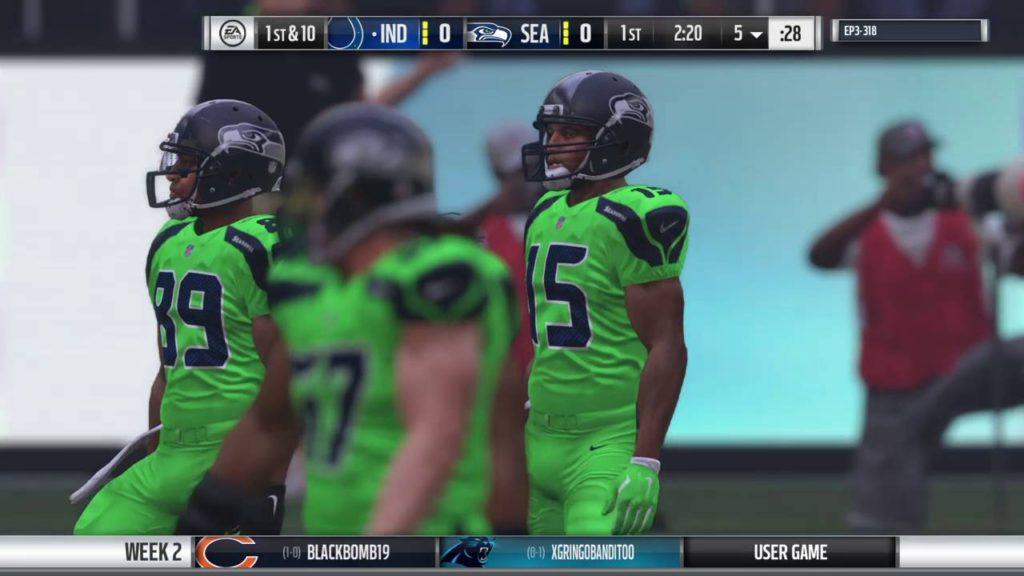 NWL Season 2 Week 2 (Seahawks)