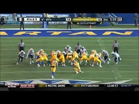 Boise Broncos vs BYU Cougars Football 2015 Highlights