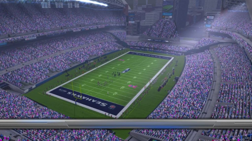 Madden NFL 17 Week 6 Atlanta Falcons vs Seattle Seahawks