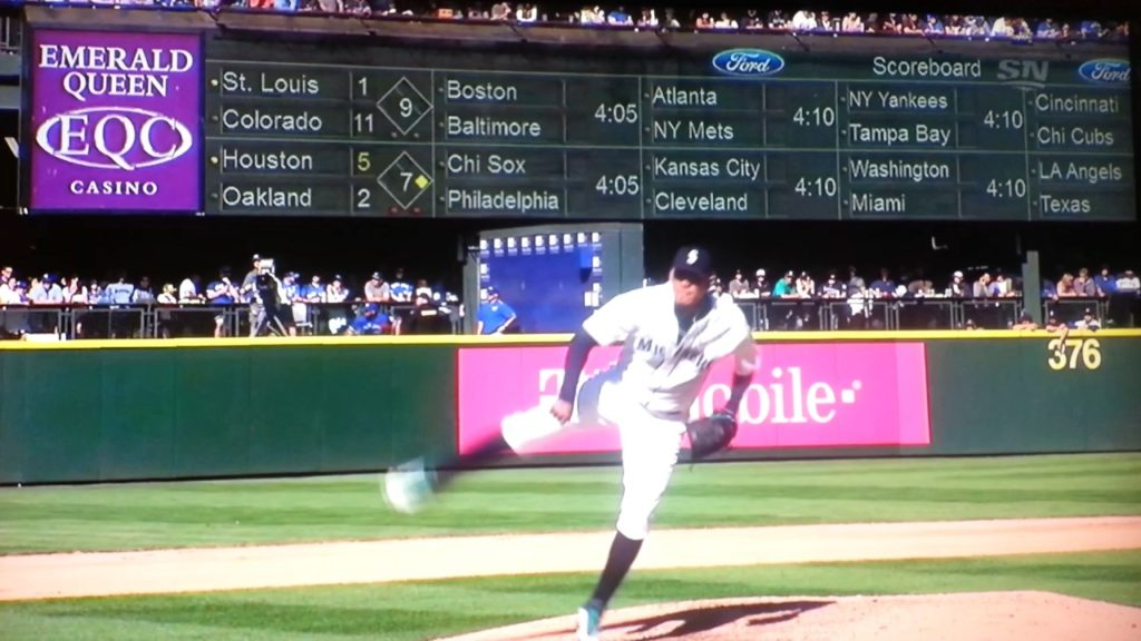 """Felix Hernandez of Seattle mariners tells Toronto blue jays fans """"this is my house""""."""