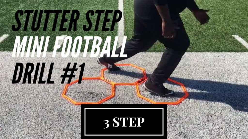 3 STEP – Stutter Step American Football Drill #1 – Defensive Line Drills