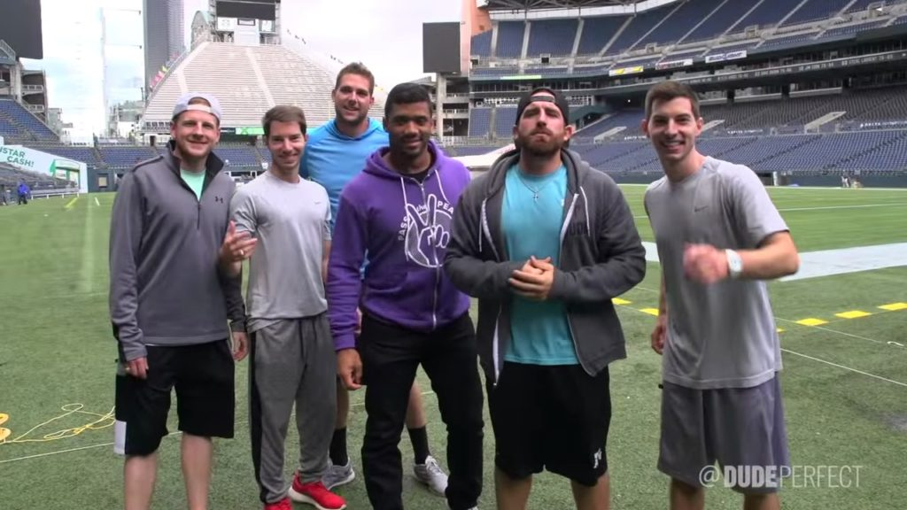 Seattle Seahawks Edition ft. Russell Wilson | Dude Perfect FC