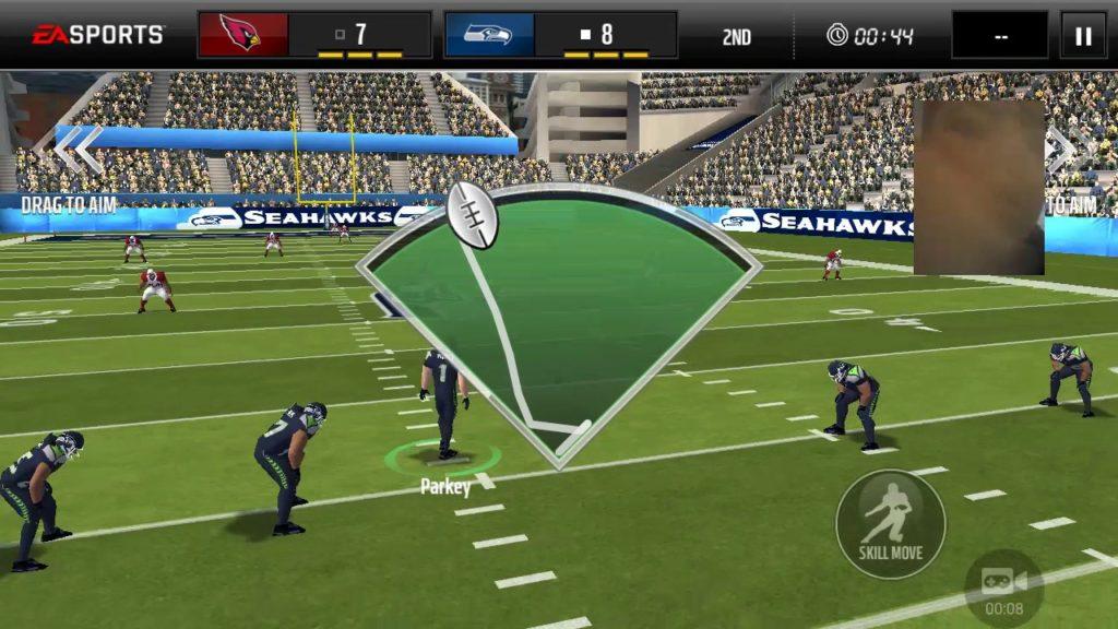 Madden mobile Seahawks vs Arizona part 2