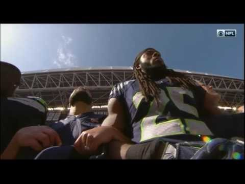 Seattle Seahawks Demonstrate Unity by Linking Arms During National Anthem
