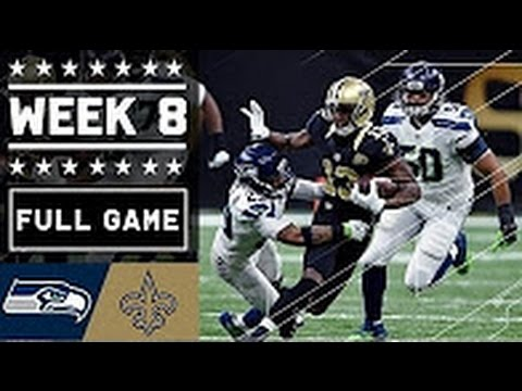 Saints vs Seahawks Full Game | Week 8 | NFL 2016 Replay