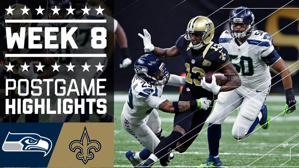 New Orleans Saints vs Seattle Seahawks Week 8 | Game FULL REPLAY | NFL October 30, 2016