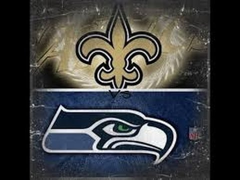 SEAHAWKS vs SAINTS Highlights (Sunday Football)  10-30-16