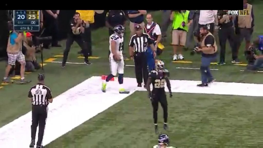 SeaHawks last play of game to win the game