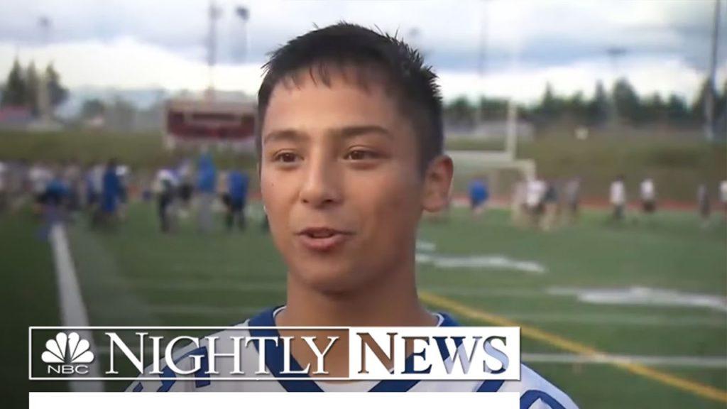 High School Football Team Too Good, Nobody Wanted To Play Them   NBC Nightly News