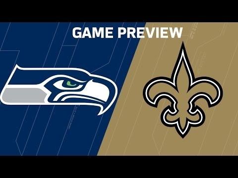 NFL 2016 Seahawks vs Saints (Week 8 Preview)