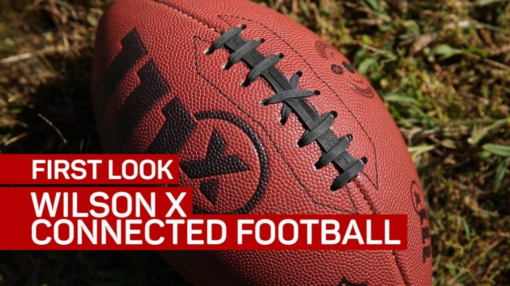 Playing catch with the Wilson X Connected Football