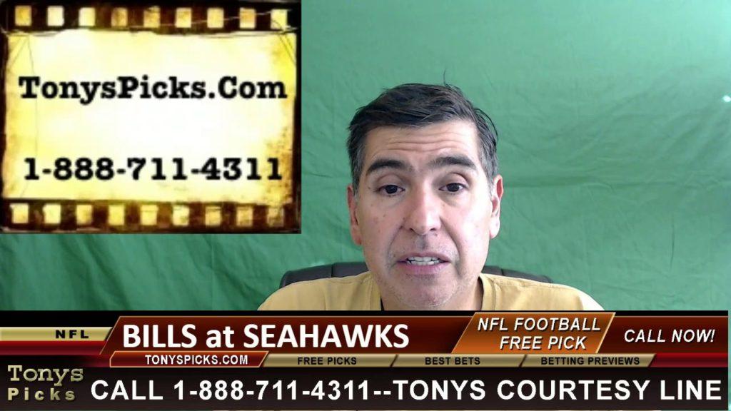 Buffalo Bills vs. Seattle Seahawks Pick Prediction NFL Pro Football Odds Preview 11-6-2016