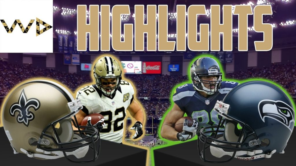 Saints Highlights vs Seahawks II Week 8